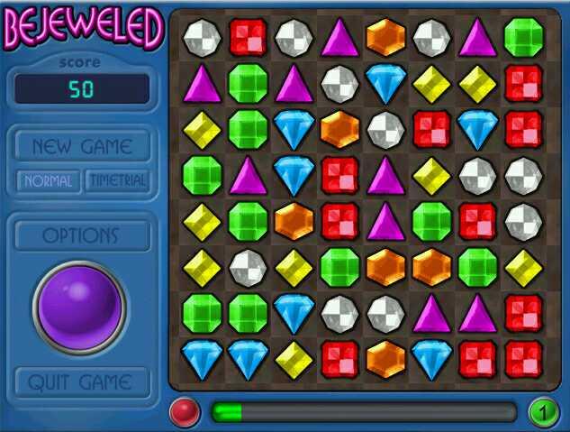 diamond mine game puzzle