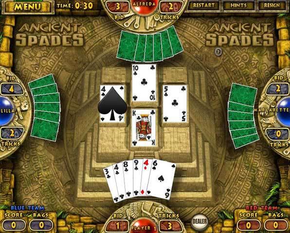 spades and hearts card games