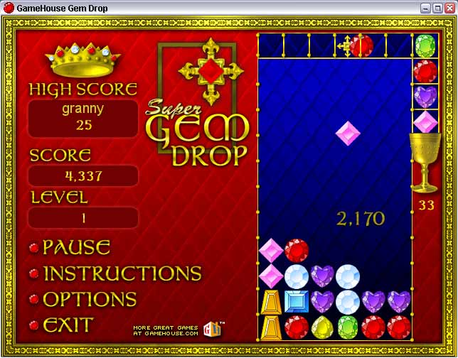 gem drop game free